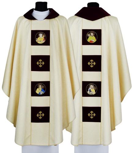 Gothic Chasuble 4 evangelists model 698