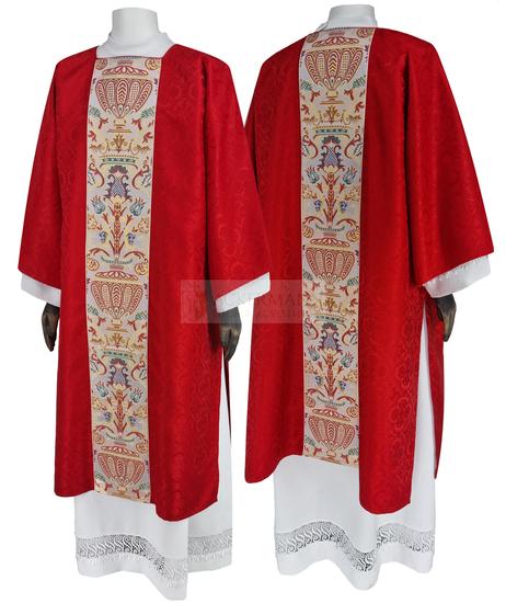 Gothic Dalmatic Coronation Tapestry model 115