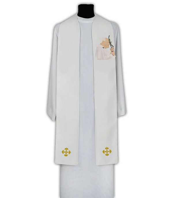 Gothic Stole St. Pope John Paul II