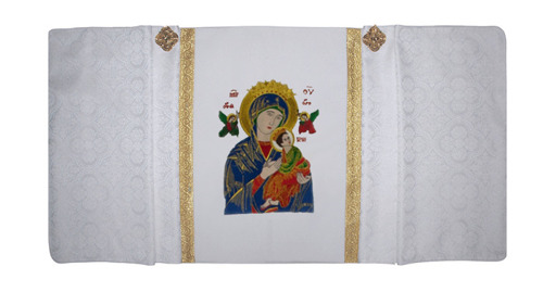 Humeral veil Our Lady of Perpetual Help