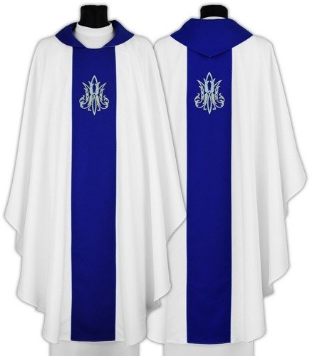 Marian Gothic Chasuble model 696