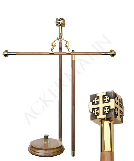 Processional Banner Stand for church BS-050