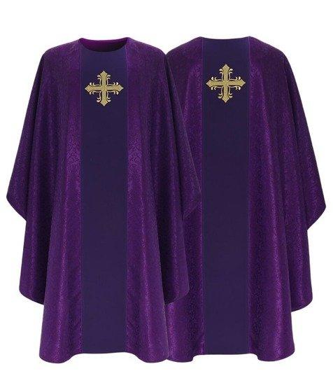Purple Gothic Chasuble model 754