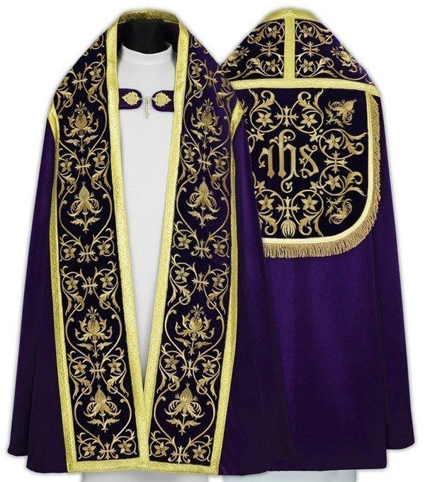 Purple Roman Cope model 674