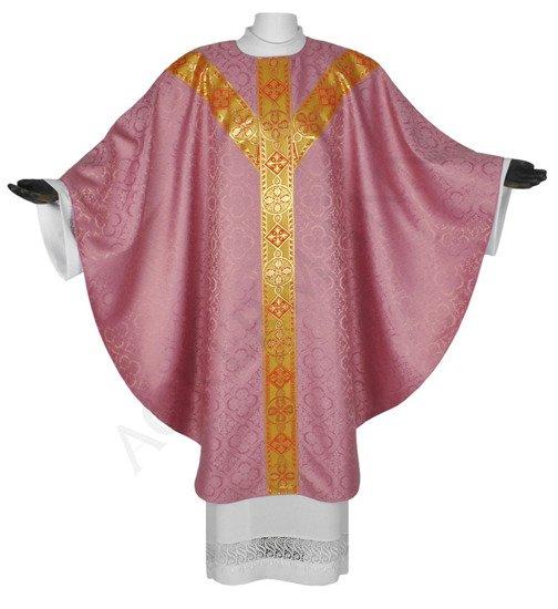 Rose Semi Gothic Chasuble model 114