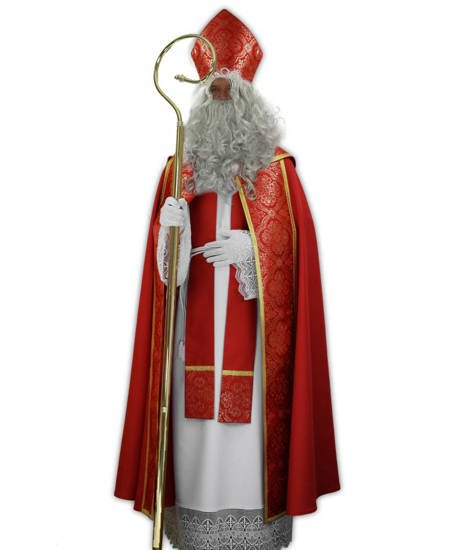 Saint Nicholas costume, Set for Christmas SC1