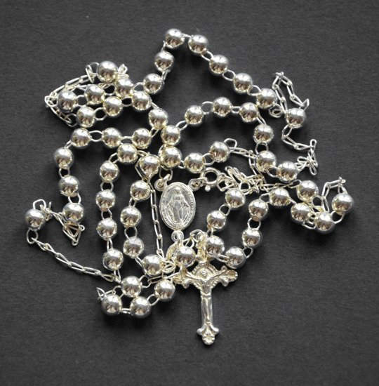 Silver Rosary 925